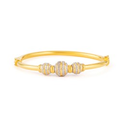 22ct Gold Bangle 15.4gm