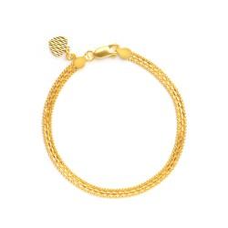22ct Gold Ladies Bracelet 5.7gm