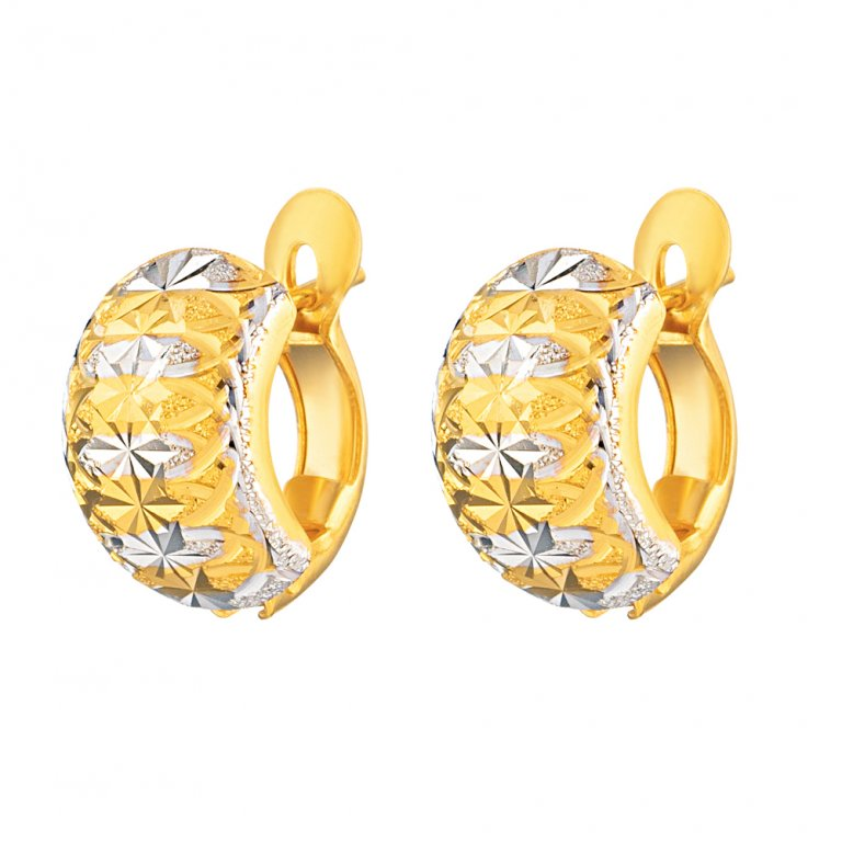 22ct Gold Earring 4gm