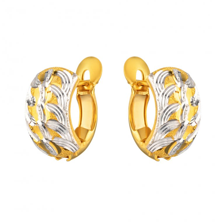 22ct Gold Earring 3.7gm