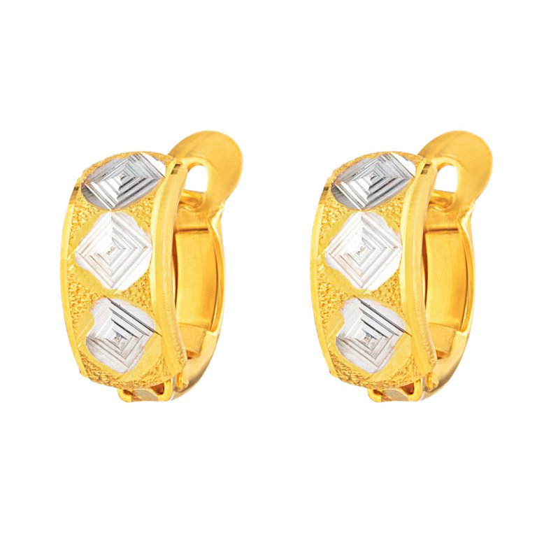 22ct Gold Earring 3.2gm