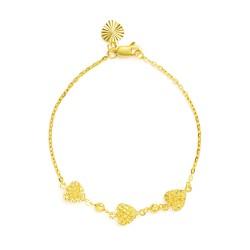 22ct Gold Ladies Bracelet 3.9gm