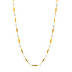 22ct Gold Fancy Chain 9.5gm 18 Inches