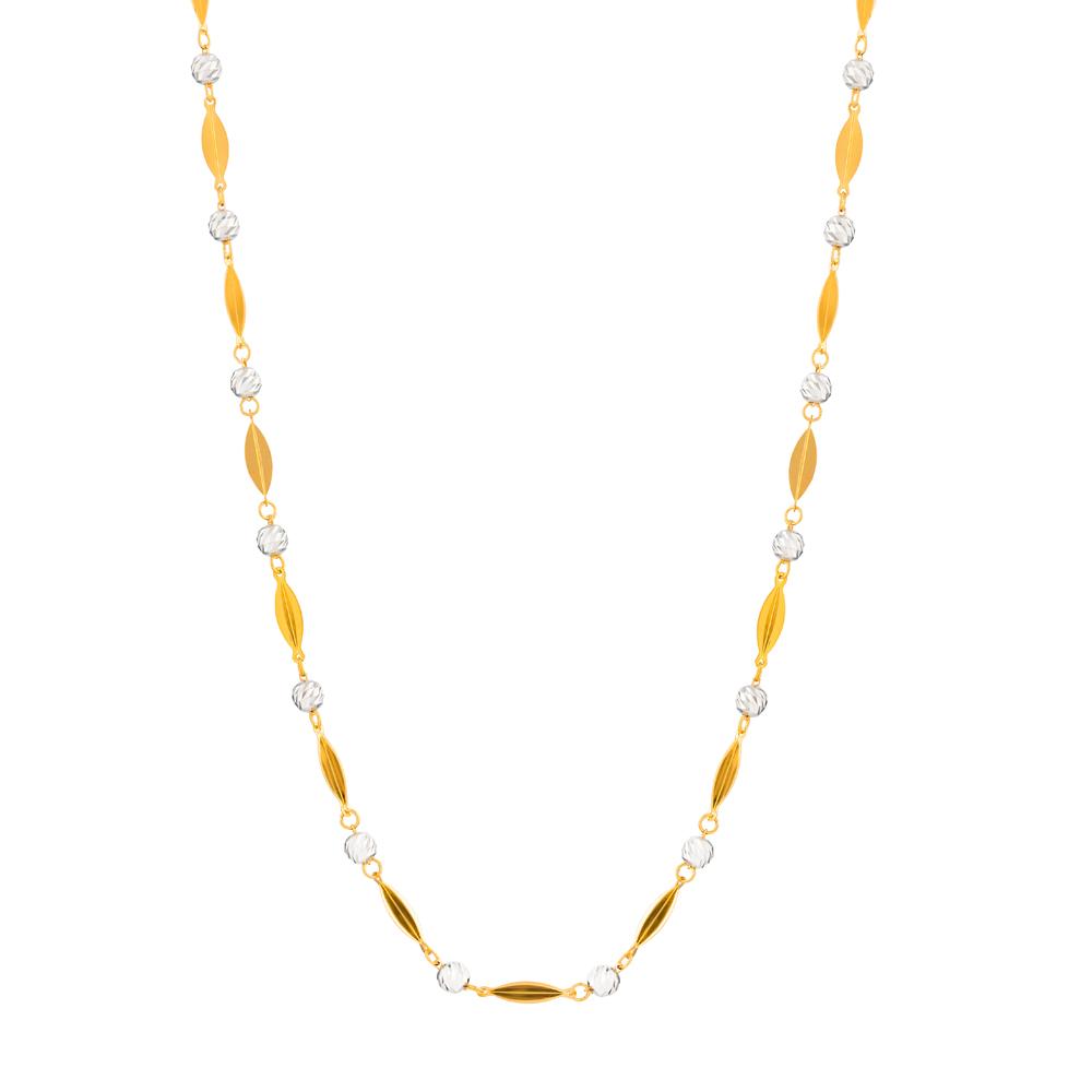 22ct Gold Medium Fancy Chain CHFC275