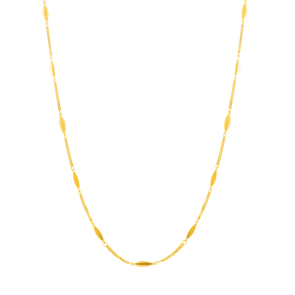 22ct Gold Medium Fancy Chain CHFC276