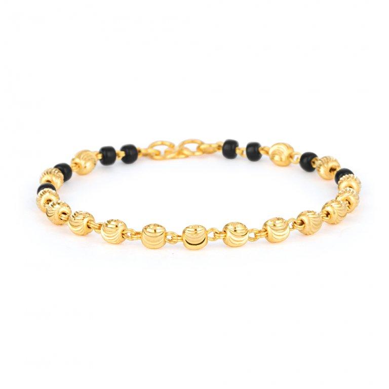 22ct Gold Baby Bracelet 2.5gm