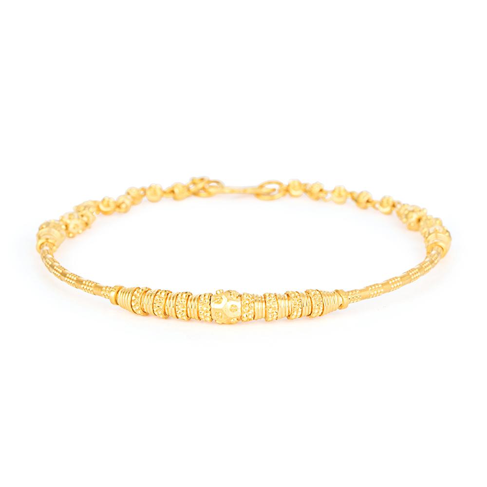 22ct Gold Ladies Bracelet YGBR156