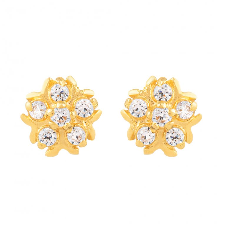22ct Gold Earring 1.2gm