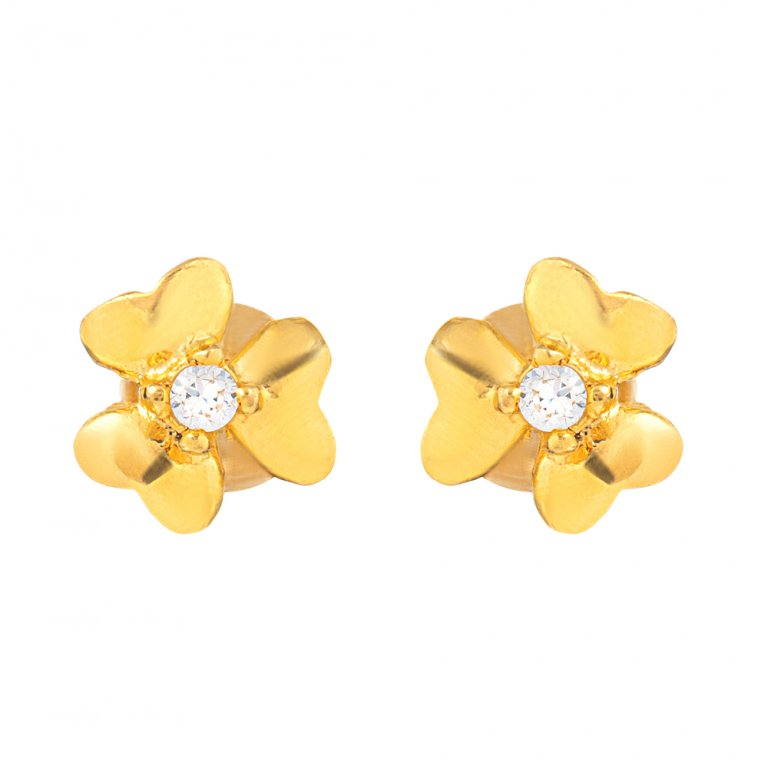 22ct Gold Earring 1gm