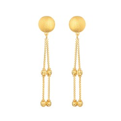 Glow Collection 22ct Gold Earring 3.6gm