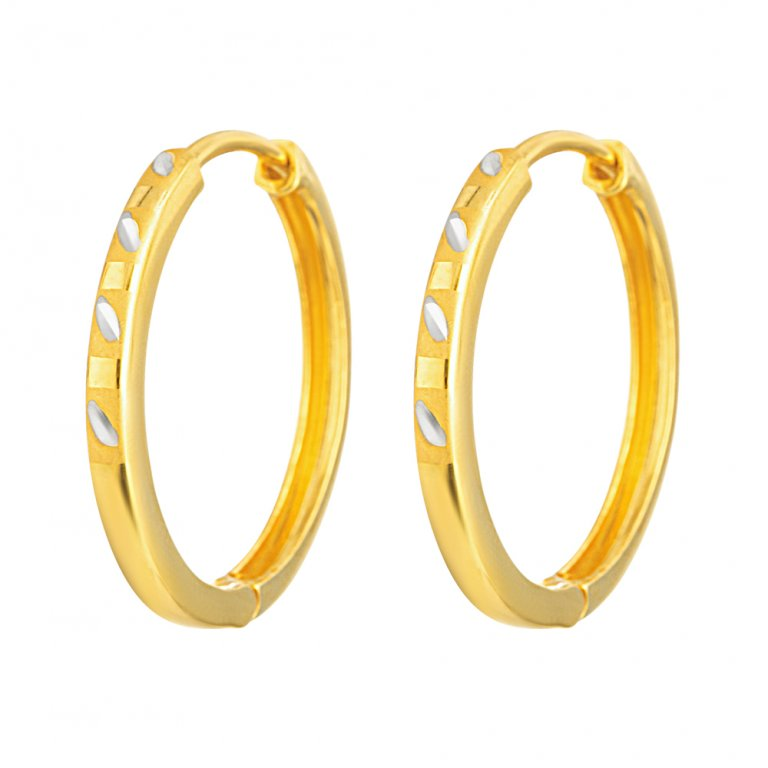 22ct Gold Earring 6.5gm