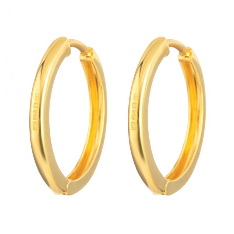 22ct Gold Earring 4.7gm