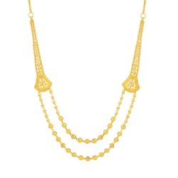 Jali Collection 22ct Gold Necklace 19.7gm