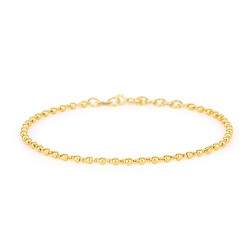 Glow Collection 22ct Gold Ladies Bracelet 3.2gm