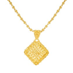 Jali Collection 22ct Gold Pendant 2.3gm