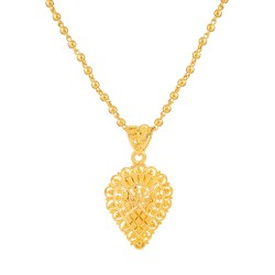 Jali Collection 22ct Gold Pendant 2.2gm