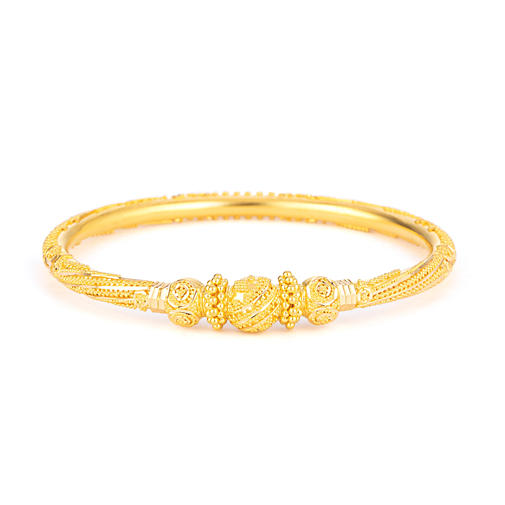 Jali Collection 22ct Gold Bangle JLBG663