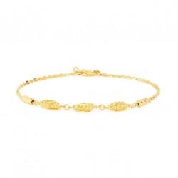 22ct Gold Ladies Bracelet 3.4gm