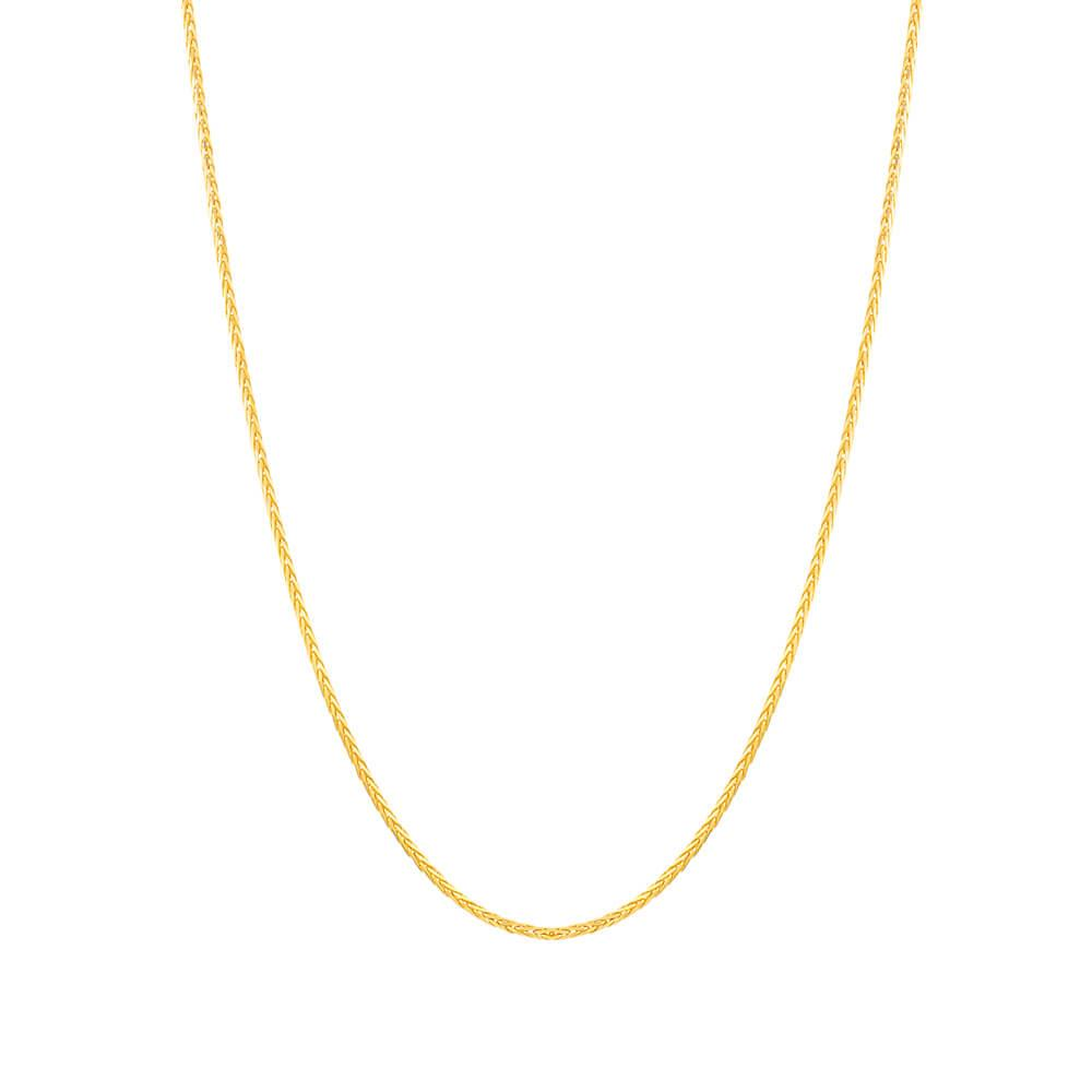 22ct Gold Chain 18 Inches Spiga CHSP268