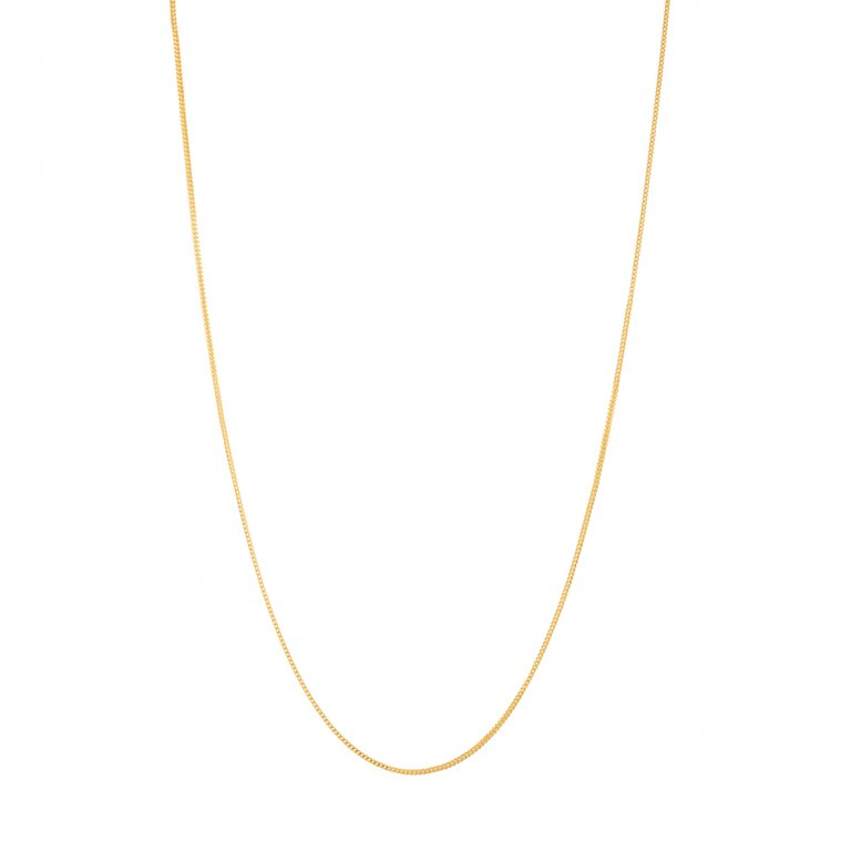 22ct Gold Chain 9.1gm 22 Inches