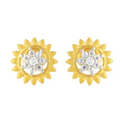 22ct Gold Earring 3.5gm