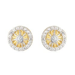 22ct Gold Earring 2.6gm