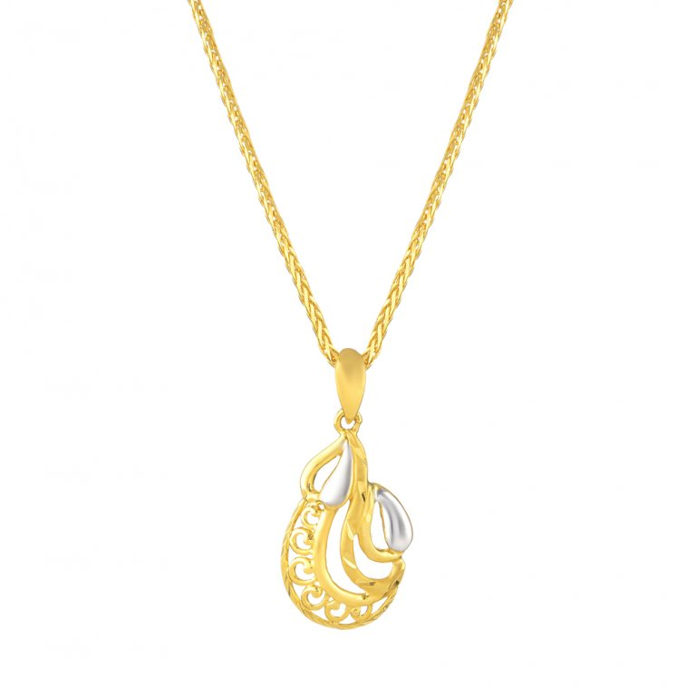 22ct Gold Pendant 2.3gm