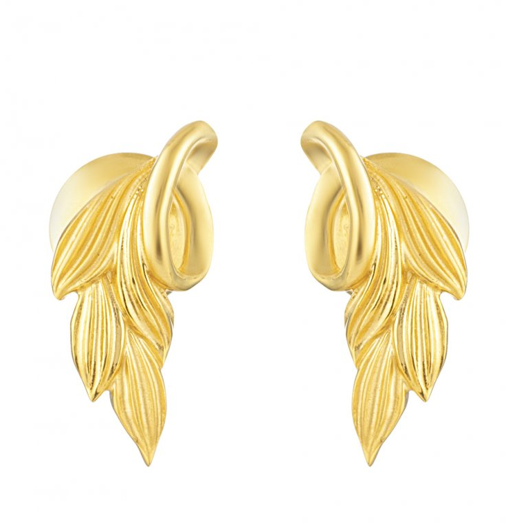 22ct Gold Earring 2.7gm