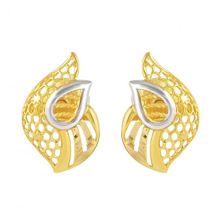 22ct Gold Earring 2.8gm