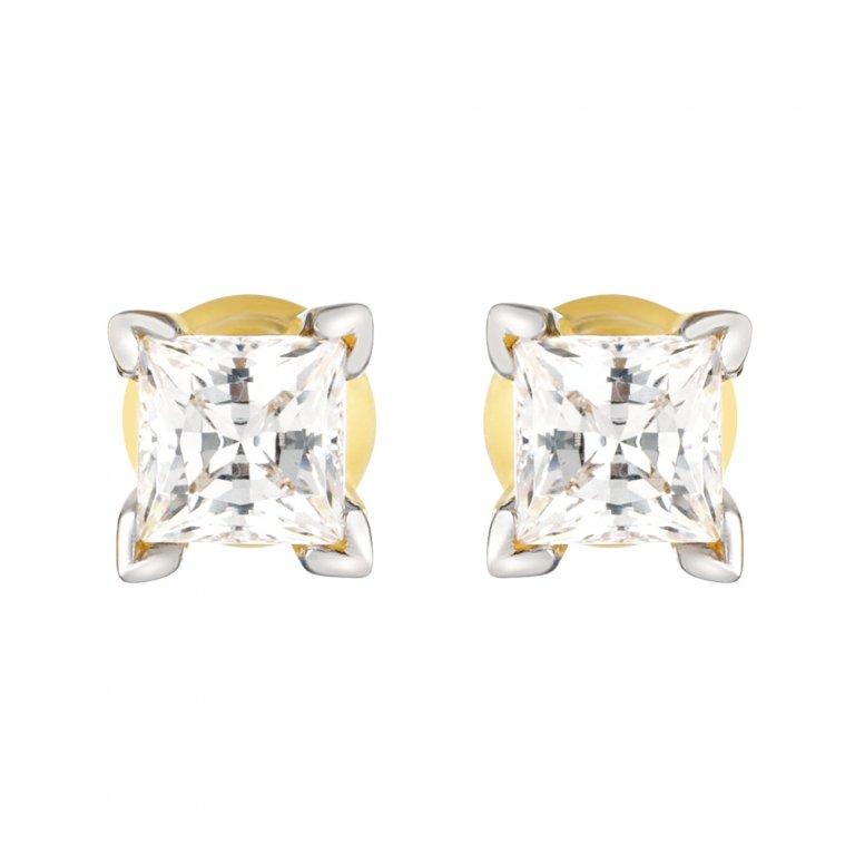 22ct Gold Stud Earring 3.3gm