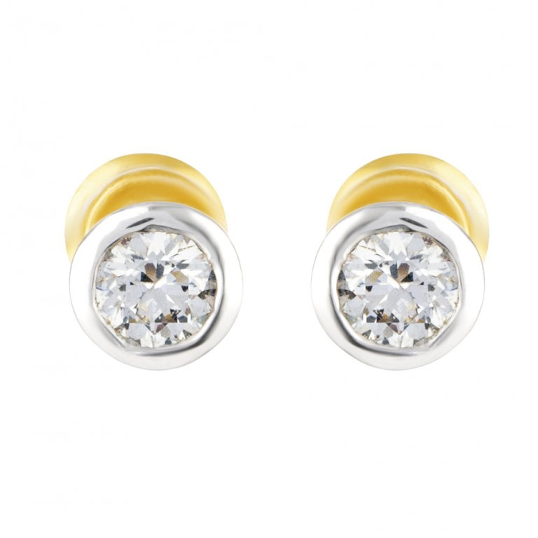 22ct Gold Earring 2.1gm