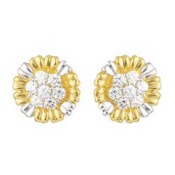 22ct Gold Earring 2.9gm