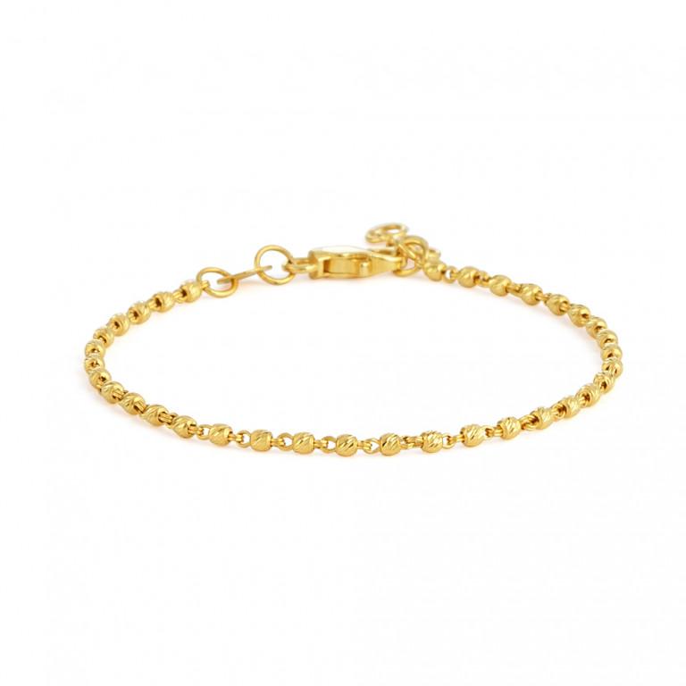 22ct Gold Bracelet 33054-1
