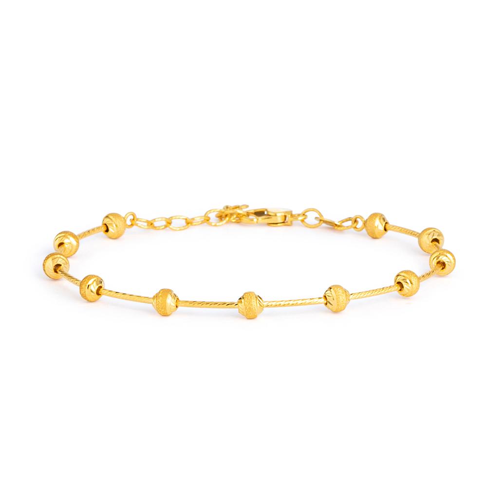 22ct Gold Bracelet 33157-01