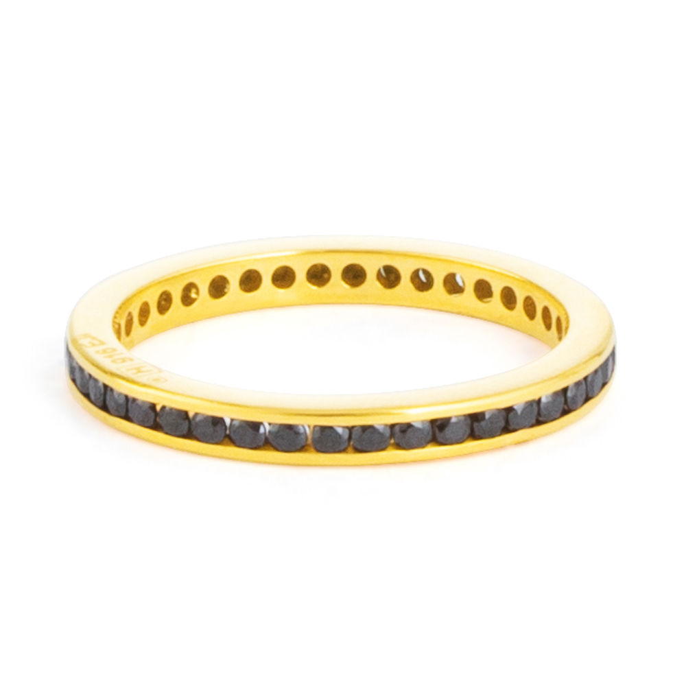22ct Gold CZ Ring 33223-01