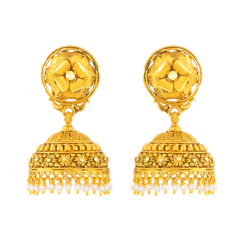 22ct Gold Earring 33446