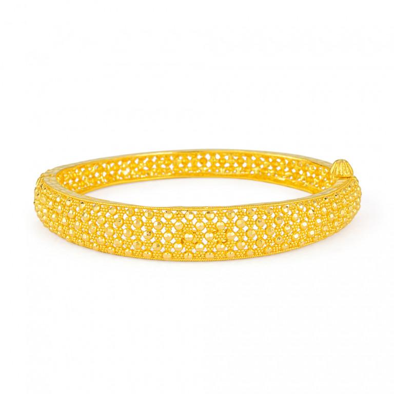 22ct Gold Bangle 33451-01
