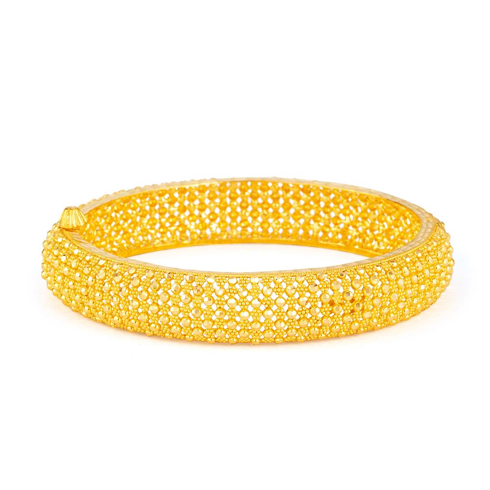 22ct Gold Bangle 33452-01