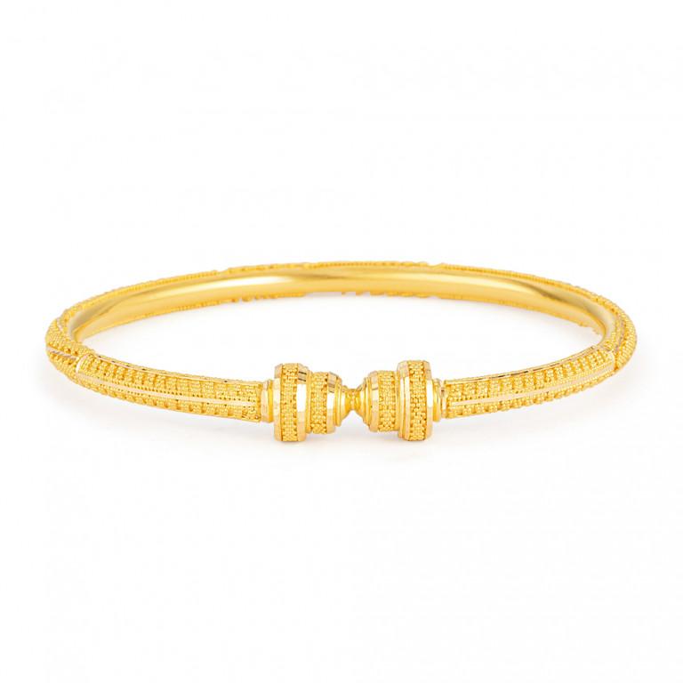 22ct Gold Bangle 33459-01