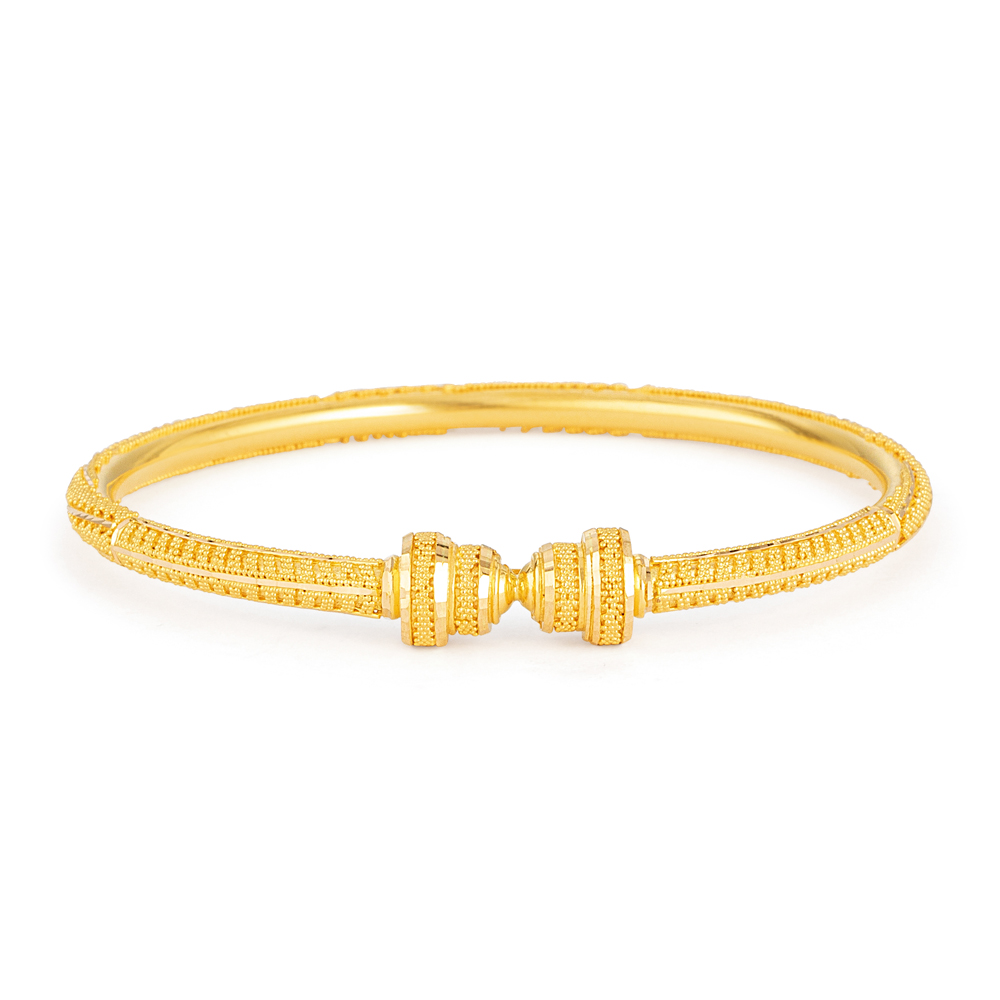 22ct Gold Bangle 33459-01