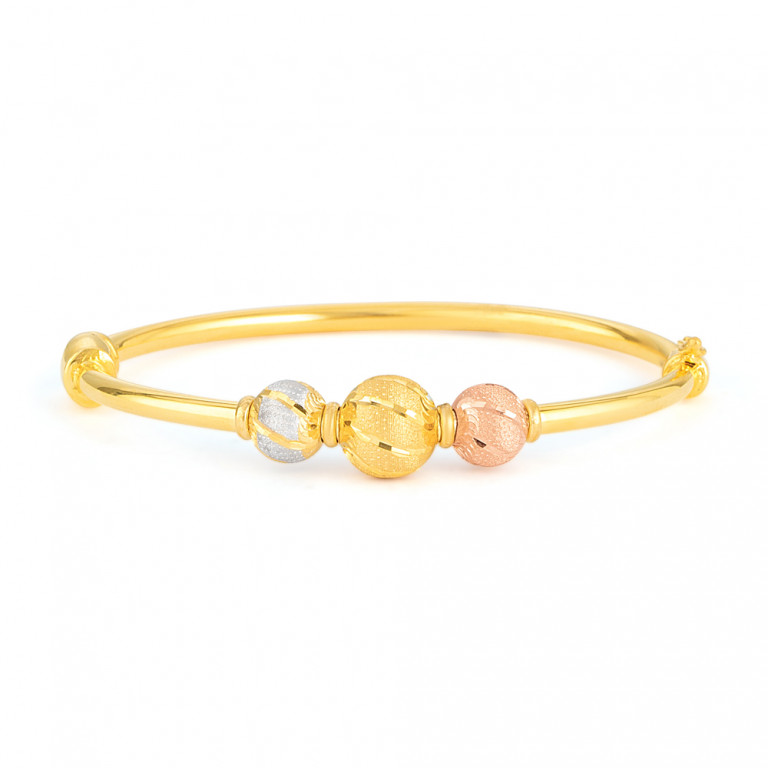 22ct Gold Bangle 33467-01
