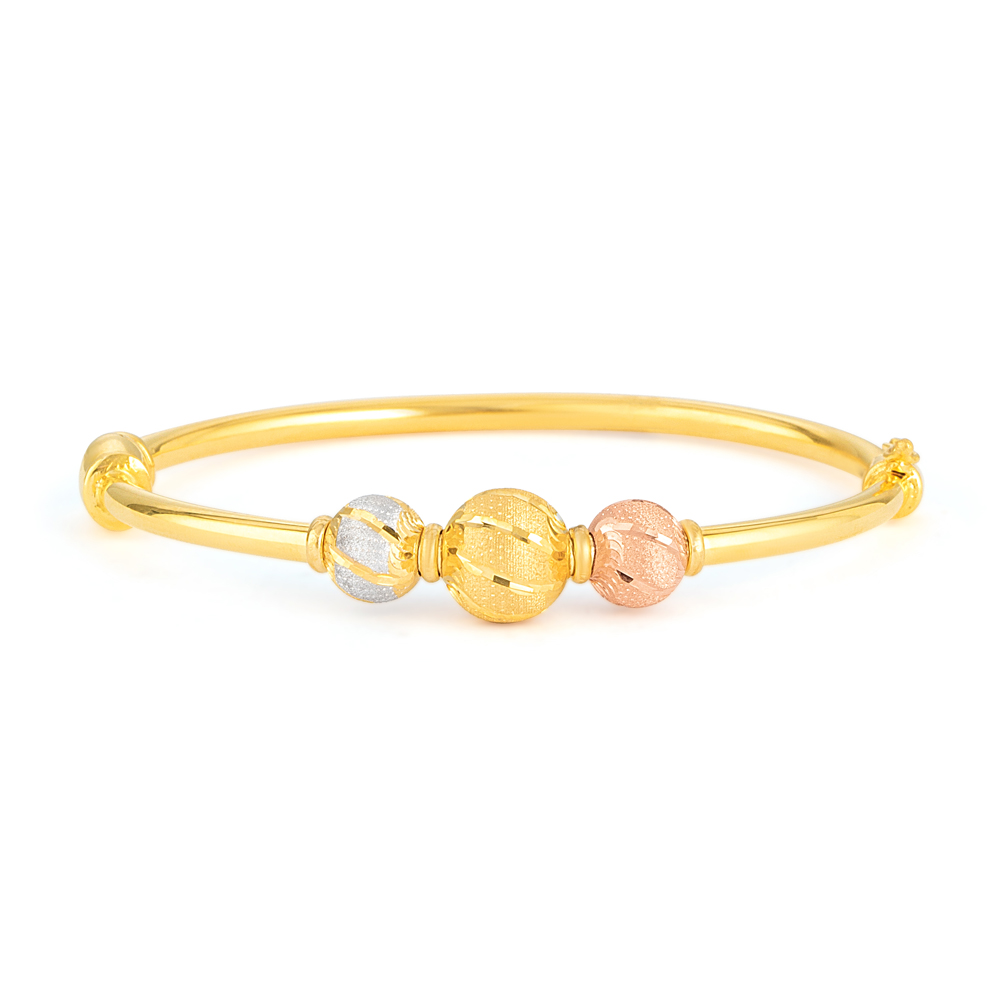 22ct Gold Bangle 33467-01