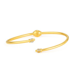 22ct Gold Bangle Bracelet 33470-01