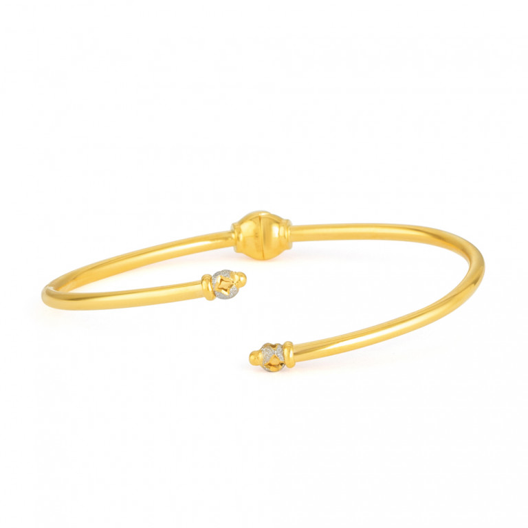22ct Gold Bangle Bracelet 33470-01