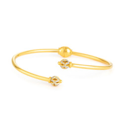 22ct Gold Bangle Bracelet 33471-01