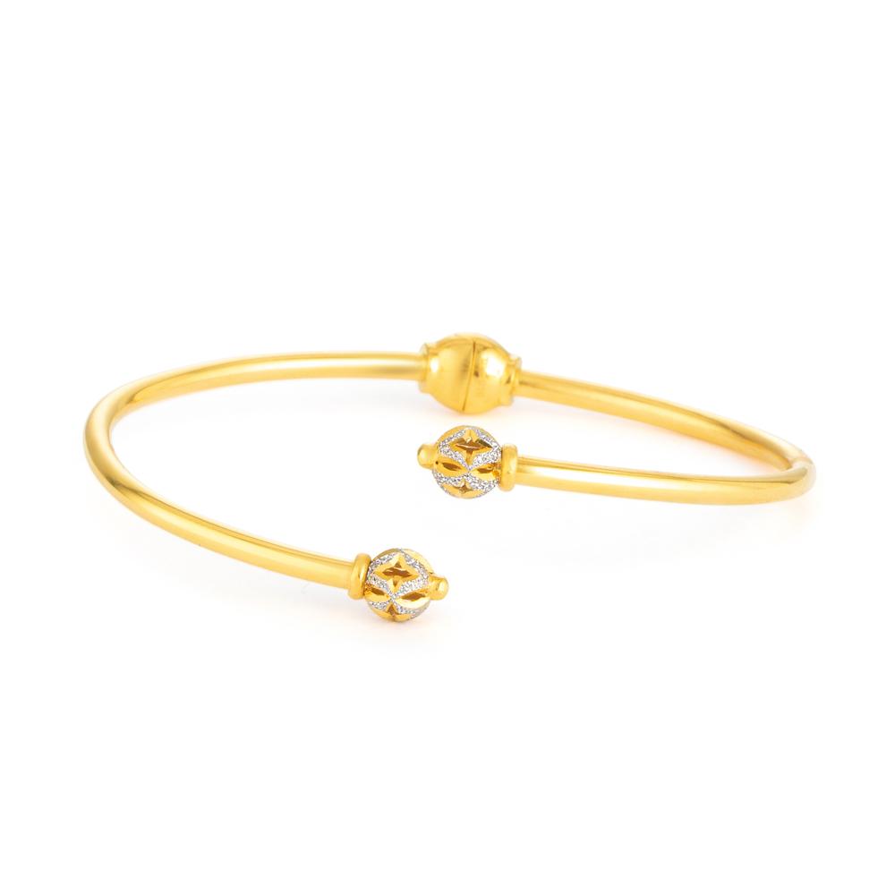22ct Gold Bangle Bracelet 33471-01