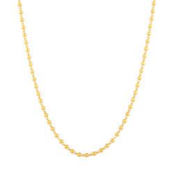 Glow 22ct Gold matte Chain 33483-01