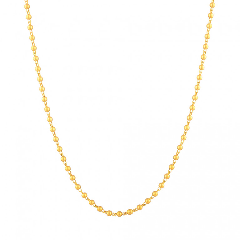 Glow 22ct Gold matte Chain 33483-01