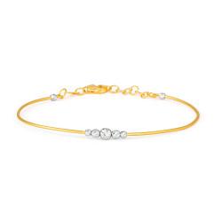 22ct Gold Bracelet 33499-01