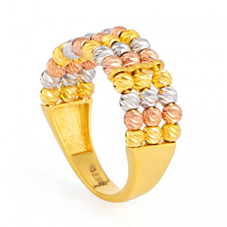 22ct Gold Ring 33586-01